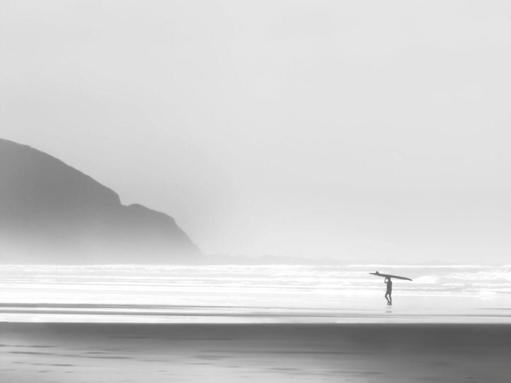 Lonely Surfer by Anoushka Lynd