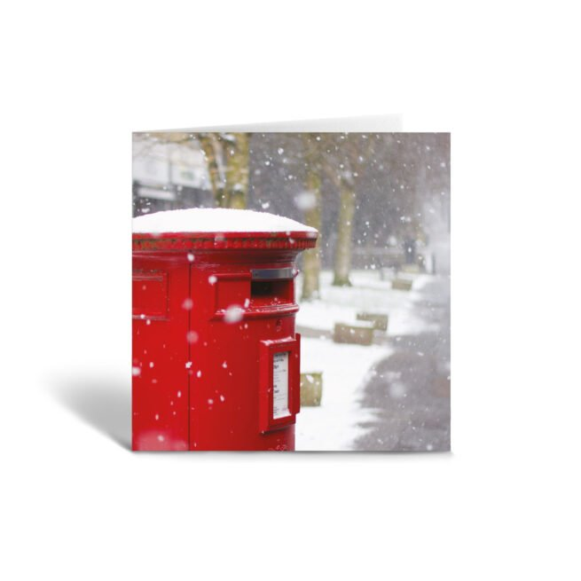 Orange Fig Christmas Collection Greetings Card Front